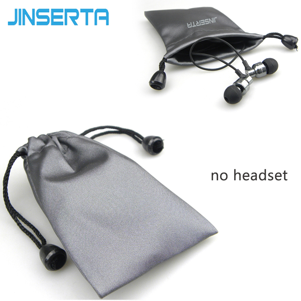 JINSERTA Earphone bag Headphones Pouch Mini-protection Sleeve Data Charging Cable Case Protective Pouch Coin Small Bags