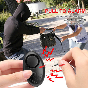 Image 2 - Portable Self Defense Alarm 130DB Emergency Protection Personal Security Alarm KeyChain with Led Light for Woman Kids Elderly