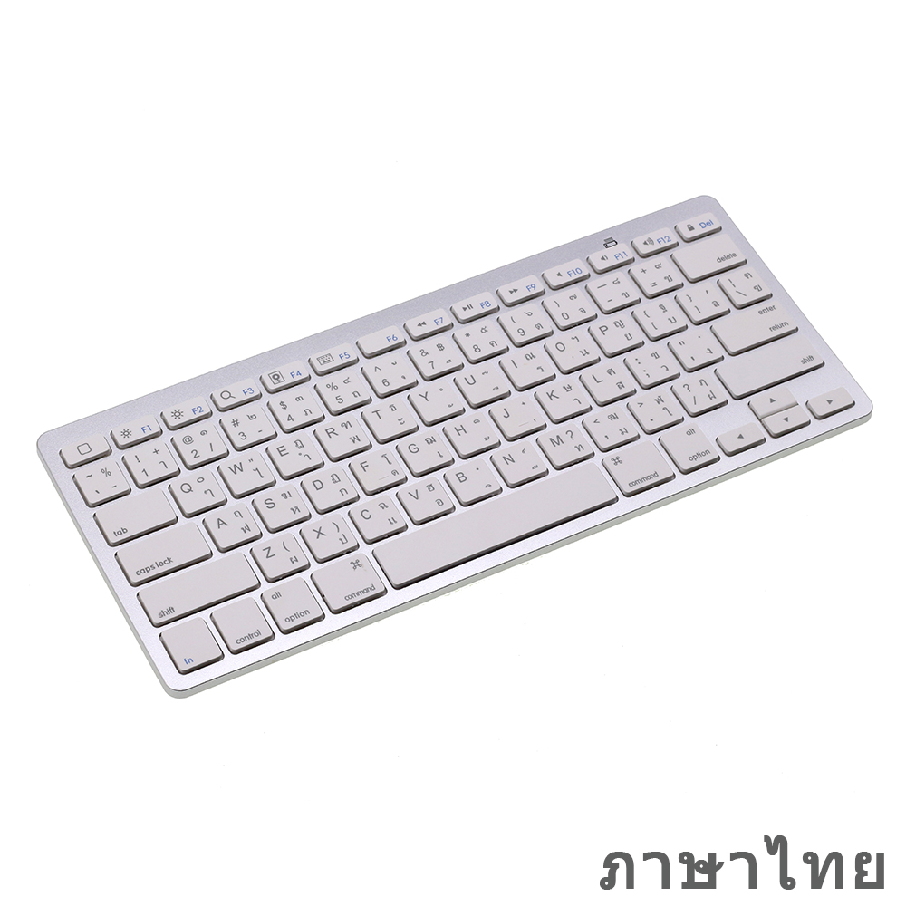 English Thai Mini Bluetooth Keyboard For IPad Pro, IPad Air, Android Tablets, Wireless Keyboard For Laptop, Surface, 20pcs