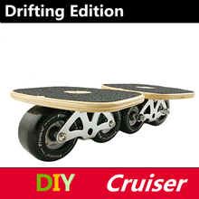 Drift Board for Freeline Driftboard Player, Canada Maple Board with PU Wheel, For Porfessional Adults Youngster Boys Skater(China)