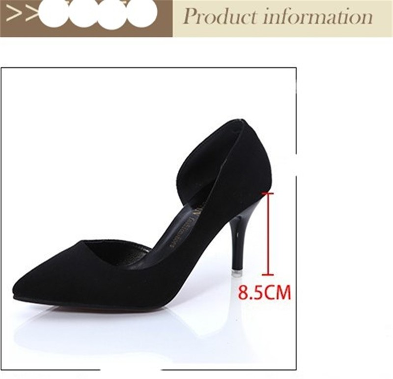 Women Ladies Shoes Hot Fashion Pointed Toe High Heels Sexy Red Bottoms Wedding Shoes Women\'s Pumps HSB03 (6)