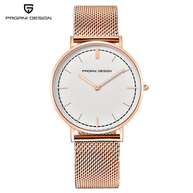 Reloj Mujer PAGANI DESIGN Watch Women Waterproof DW Style Ladies Watches Top Brand Luxury Quartz Wrist