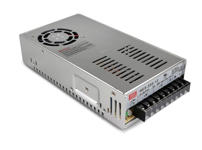 Original MEAN WELL 350W Single Output Switching Power Supply NES-350 meanwell 12v 350w ul certificated nes series switching power supply 85 264v ac to 12v dc