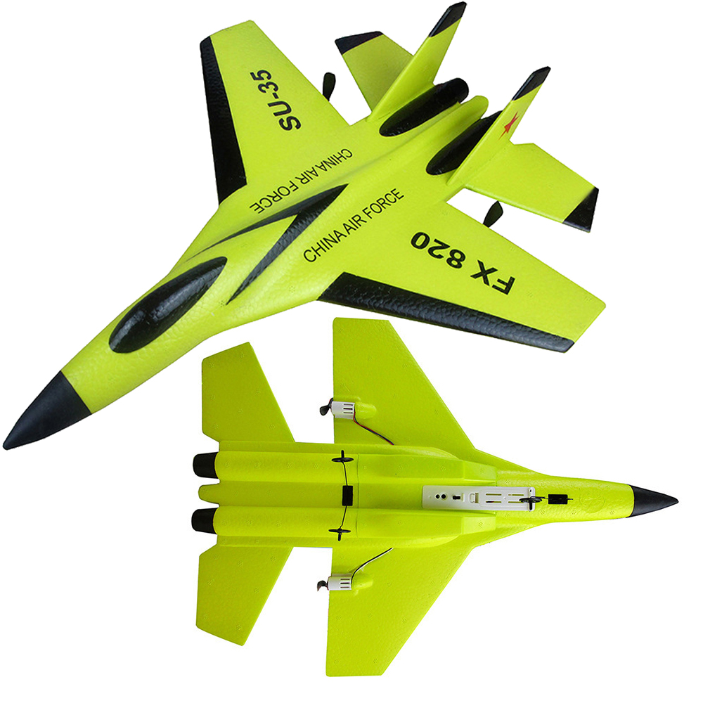 SU-35,1pcs FX-820 SU-35 EPP Glider 290mm Wingspan 2.4G 2CH Remote Control RC Airplane Aircraft RTF