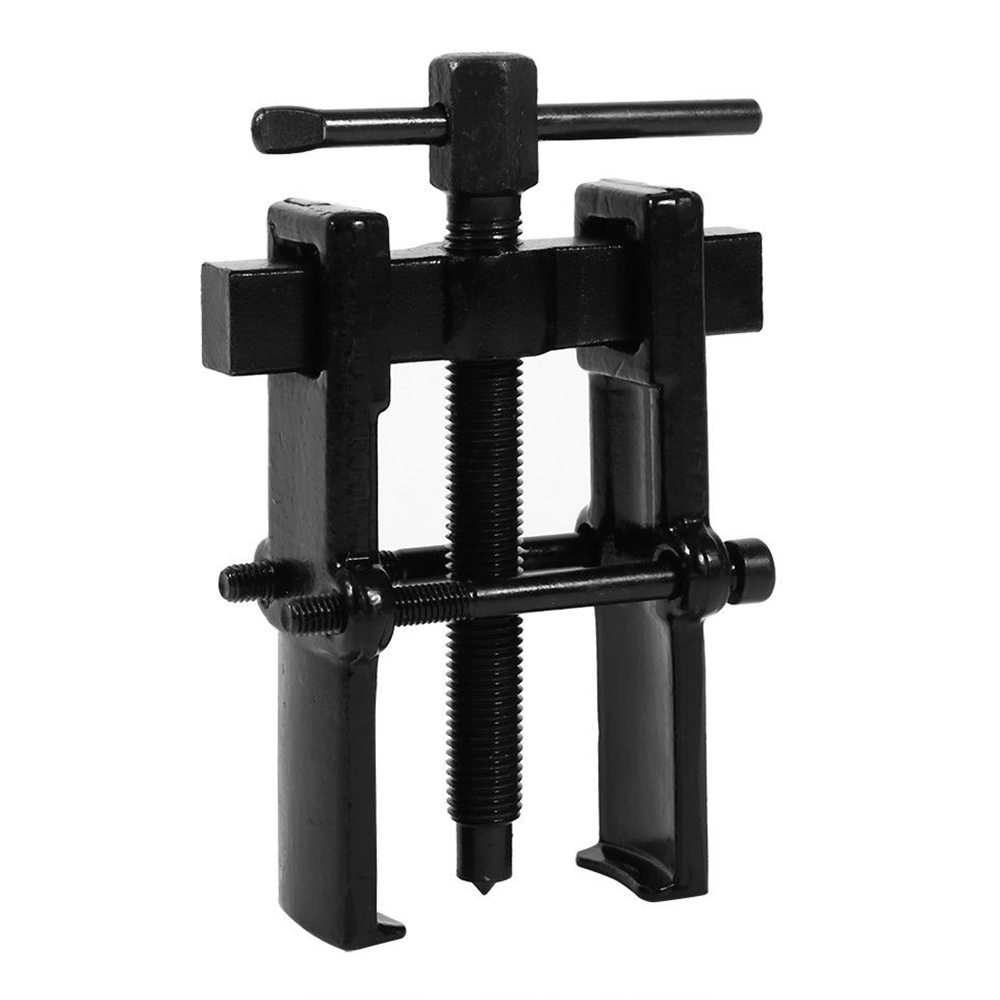 Bearing Puller Adjustable Two Jaw Pilot Tool Carbon Steel Pump Pulley Remover Bearing Multifunctional Puller 50mm