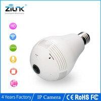 WIFI Camera 360 Degree Panoramic 1 3MP Bulb Lamp Two Way Audio Wireless IP Camera