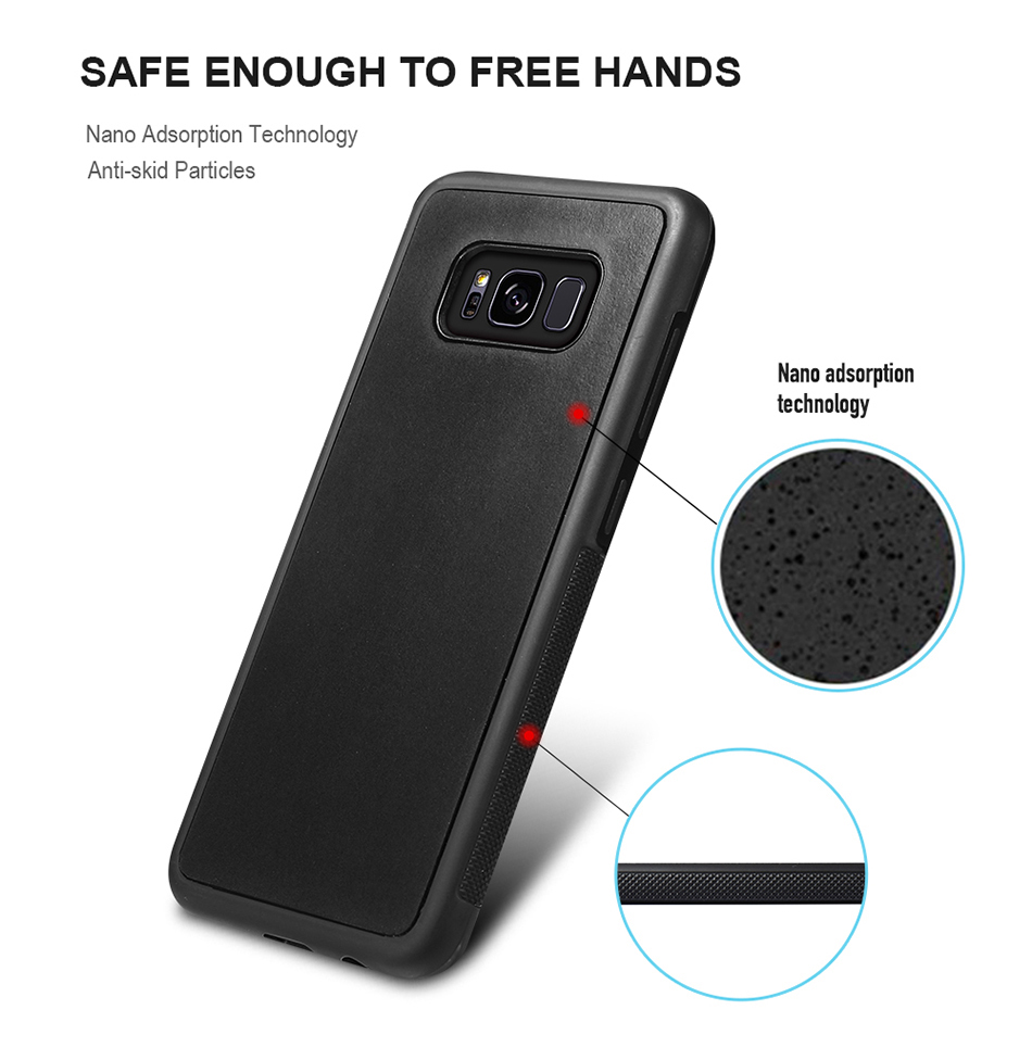 For Samsung Galaxy S8 Plus S6 S7 S5 Anti Gravity Phone Case YYF (2)