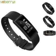 Voberry N108 Смарт Браслет сердечного ритма Мониторы смарт-браслет Фитнес трекер Приборы для измерения артериального давления smartband для IOS Android 35