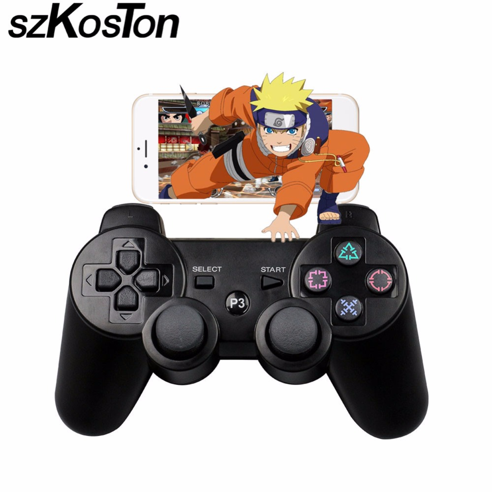 Wireless Bluetooth Game Controller Joypad Game Controller RemoteFor sony playstation 3 PS3 Controle Joystick Gamepad ivy queen for sony playstation 4 ps4 ps3 controller alu aluminium bullet aktions buttons tasten gun triangle circle square x