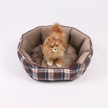 Fashion Warm Dogs Beds Pet Suppliers Two Sides Using Cotton Round Pet Mats Small Animal Sleeping Sofa House Kennel S M L New