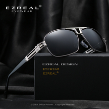 EZREAL New Fashion High Quality Polarized Sunglasses Men Luxury Brand Designer Cool Driving UV400 Vintage Sun Glasses With Box