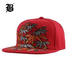 [FLB] Мужская бейсболка, хип-хоп кепка, плоская кепка, бейсболка, s Качество, Бамбуковая вышивка, хлопковые головные уборы для мужчин и женщин, пара, Bone F138