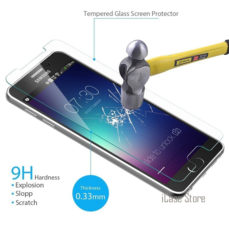 Tempered Glass Premium Screen Protector For Samsung Galaxy S2 S3 NEO S4 S5 S6 J5 Grand Prime G531 G361H i9060i Protective Film