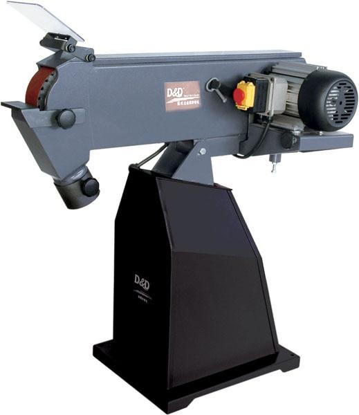 75*2000mm metal belt sander & metal bench grinder