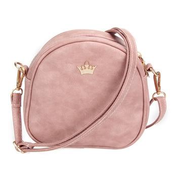 2017 new women bag imperial crown women messenger bag small shell crossbody bag pu leather.jpg 350x350