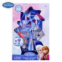 Disney Snow Colorful Windmill Girls Makeup Box Children's Show Cosmetics Gifts for boys and girls for children pretend play