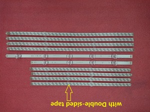 Image 1 - 10 قطعة/المجموعة LED شريط إضاءة خلفي ل LG 49LB582V 49LF580V 49LF5800 49LB630V 49LB6300 49LB650V 49LB6500 49LB620V 6916L 1788A 1789A