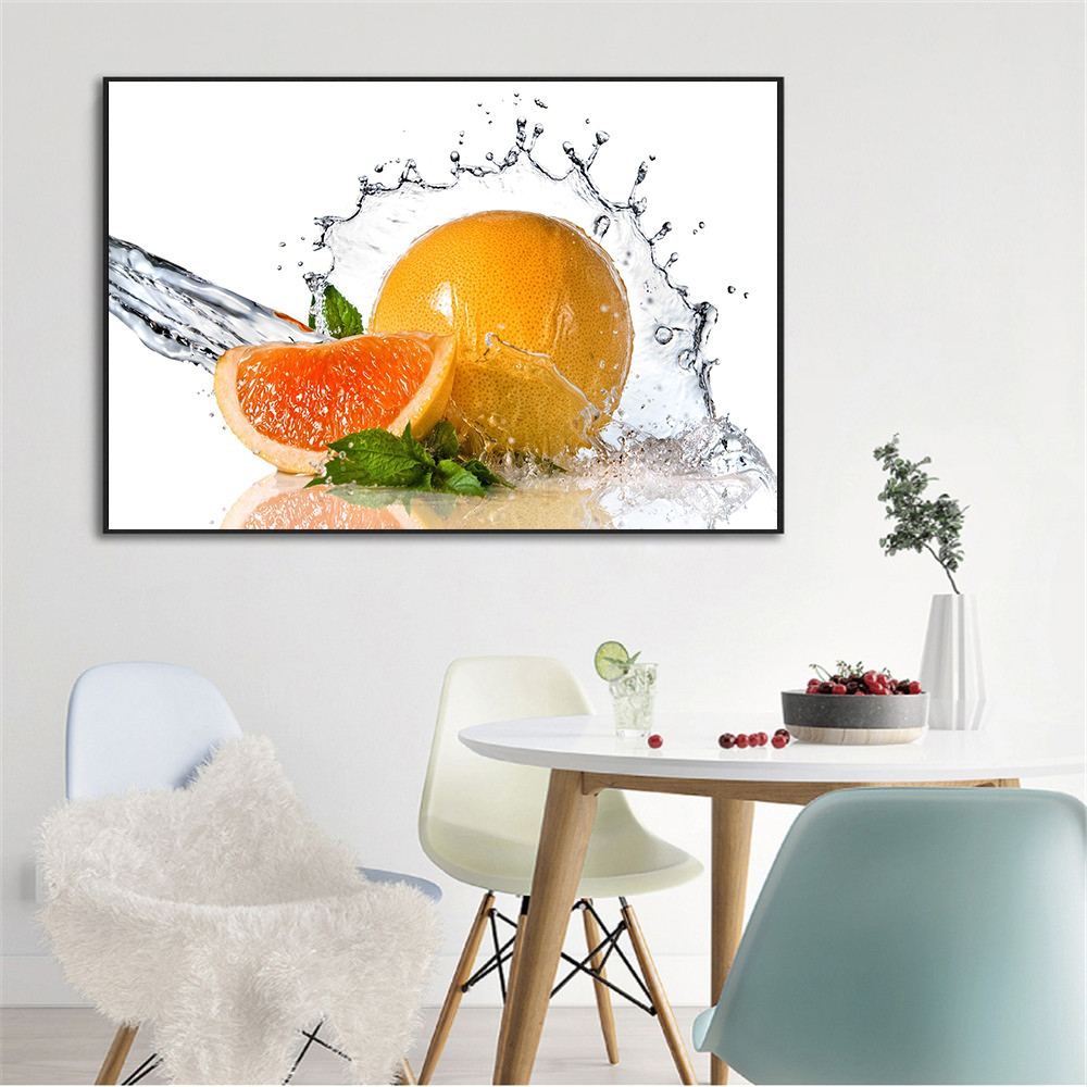 Modern Print Canvas Painting Restaurant Fruits Cherry