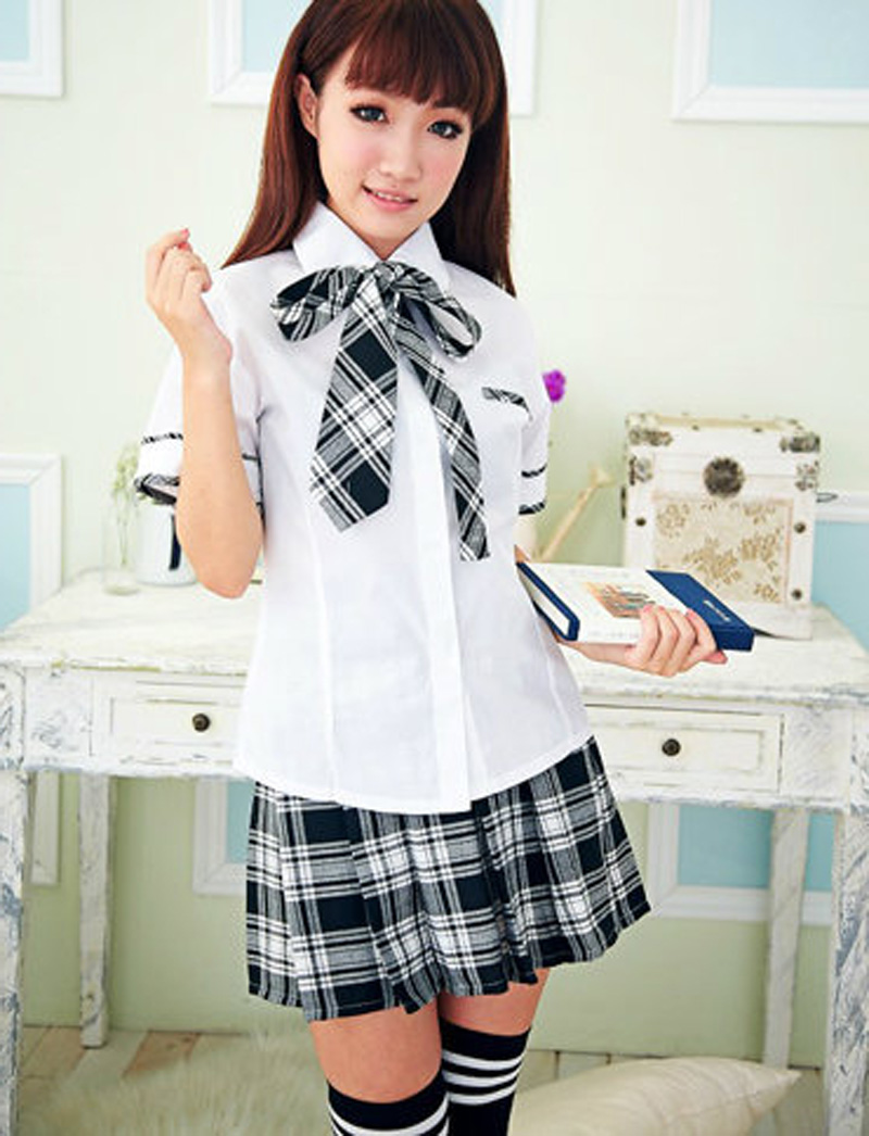Popular Sexy School Girl Adult Costume-Buy Cheap Sexy -8157
