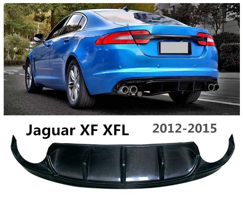 2015 Xf Jaguar: Carbon Fiber Rear Lip Spoiler For Jaguar XF XFL 2012 2013