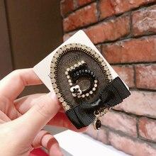 Stylish High Quality Handmade Rhinestone 5 Brooch Geometric Bow Flower Party Pin For Woman Brooches