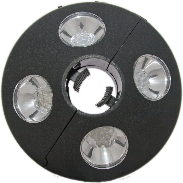 New Portable Patio Umbrella Light 24 Led Lights At 72 Lumens To
