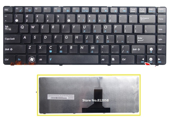 New laptop US Keyboard For Asus U36 U36J U36JC U36R U36S U36SD U36SG U36SD-A1