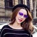 2016 Mais Novo de Luxo Sem Aro olho de Gato Óculos De Sol Das Mulheres de Grandes Dimensões ou o homem Designer de marca tão real oculos de Sol Glasse lady super amante d