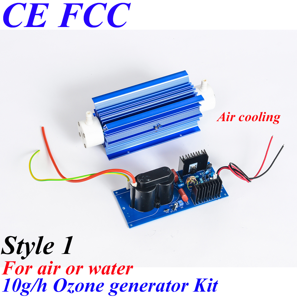 CE EMC LVD FCC Factory outlet BO-10QNAON 0-10g/h adjustable Quartz tube type ozone air purifier home ozone generator water air