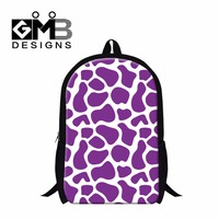 2016 Elementary Student Blue School Backpack PurpleGiraffe Spot Back Pack Magazine Cute Pink Bookbags For Children
