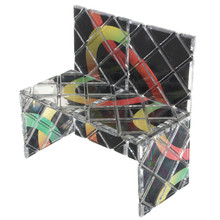 8 Panel 3 Ring Master Magic Folding Puzzle Toy Ghost Hand Brain Trainning Professional Magic Cube