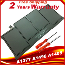 Black Laptop Battery Replace For Apple Macbook Air A1377 A1496 A1405 A1369 A1466 battery