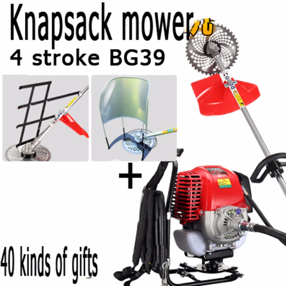 Tools Grass Trimmer Careful 2019 New High Quality Petrol Brush Cutter Grass Cutter 2 In1 With 52cc Petrol Engine Multi Brush Trimmer Strimmer Tree Cutter