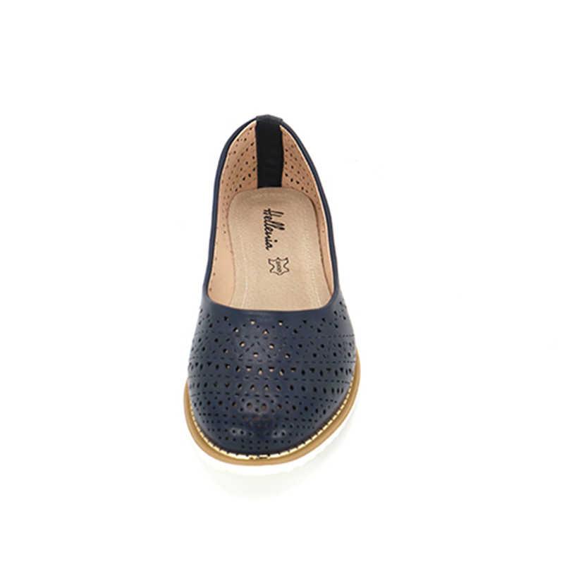 รองเท้ารองเท้าผู้หญิงรองเท้าฤดูใบไม้ร่วงฤดูใบไม้ร่วงรองเท้าแฟชั่น Loafers SLIP บนยี่ห้อ 2019 ฤดูใบไม้ผลิผู้หญิง Oxford FLAT สุภาพสตรีหญิงรองเท้า