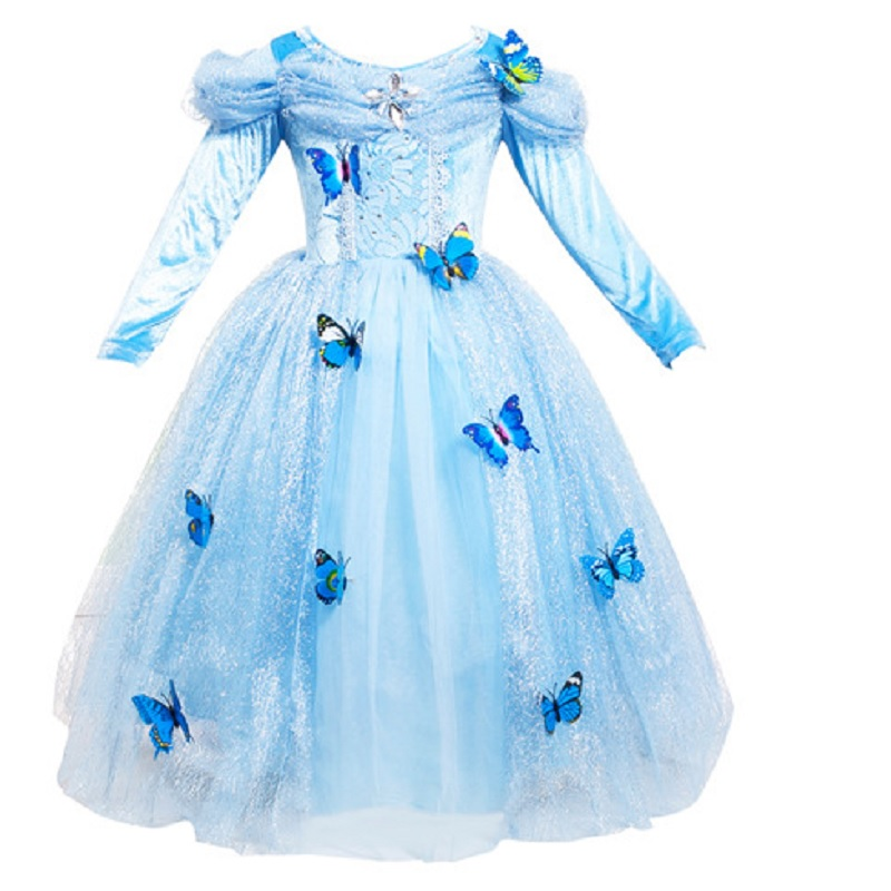 New Nip Disney Baby Girls Halloween Cinderella Costume 6: Blue Halloween Costume For Kids Princess Little Christmas