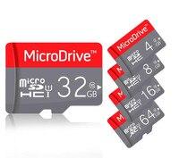 マイクロsdホットバージョンマイクロsdカード64ギガバイトtfカード32ギガバイト64ギガバイト128ギガバイトメモリカード32ギガバイトusb micosdカード用電話/mp3、4/pc/タブレット+ギフ