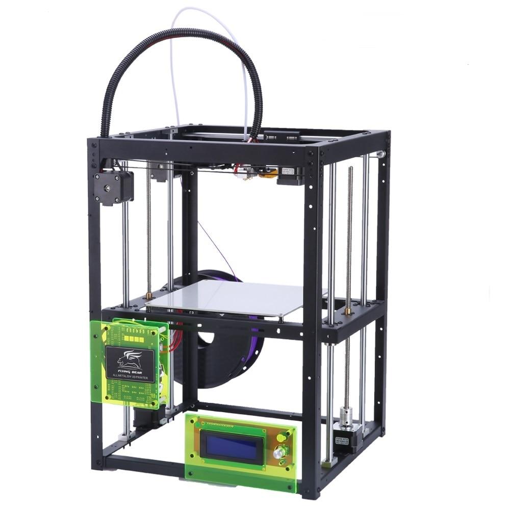Attività di Progettazione Flyingbear P905H Full metal Makerbot 3d Stampante di Grande formato di stampa di Precisione di Alta Qualità kit