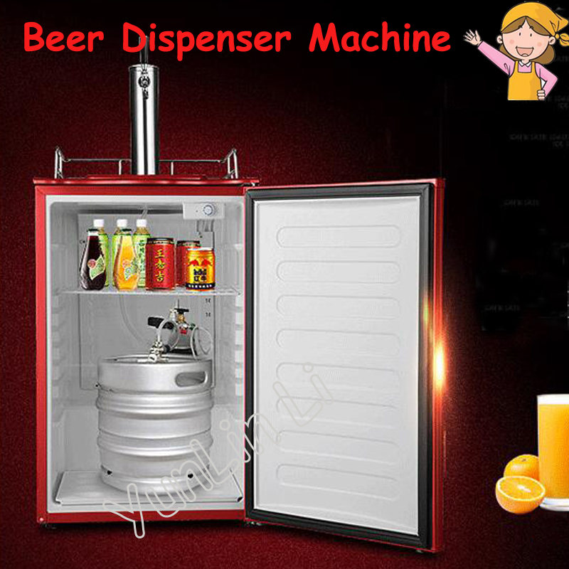 Commercial Beer Dispenser Machine Restaurant Bar Beer Machine Ice Core Beverage Dispenseice Beer Drink Machine KEG8000 цена