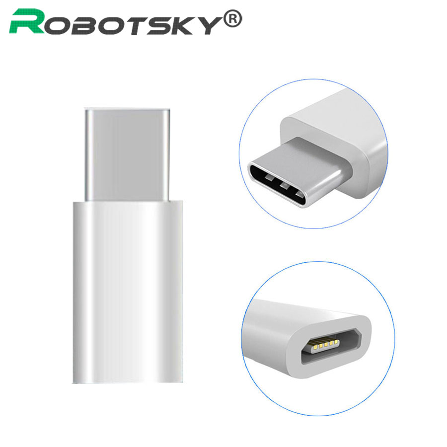 USB 3.1 Type-C Male To Micro USB 2.0 Female Converter Adapter Type C For Macbook Nokia N1 ChromeBook Nexus 5X 6P XC3111