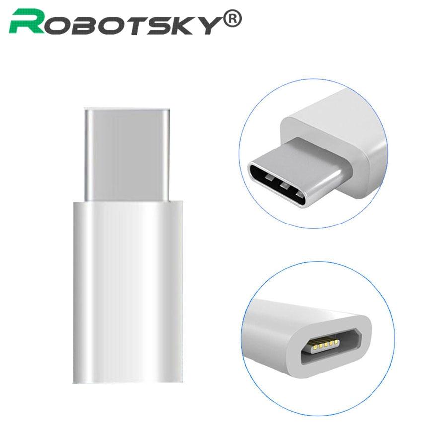 USB 3.1 Type-C Male To Micro USB 2.0 Female Converter Adapter Type C For Macbook Nokia N1 ChromeBook Nexus 5X 6P XC3111