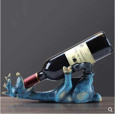 Wine rack deer crafts ornaments, European creative decorations, home furnishings, new home gifts