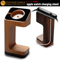 2016 new wooden charging stand For watch 1&2 sport wood charger display for smart watch edition holder keeper brown