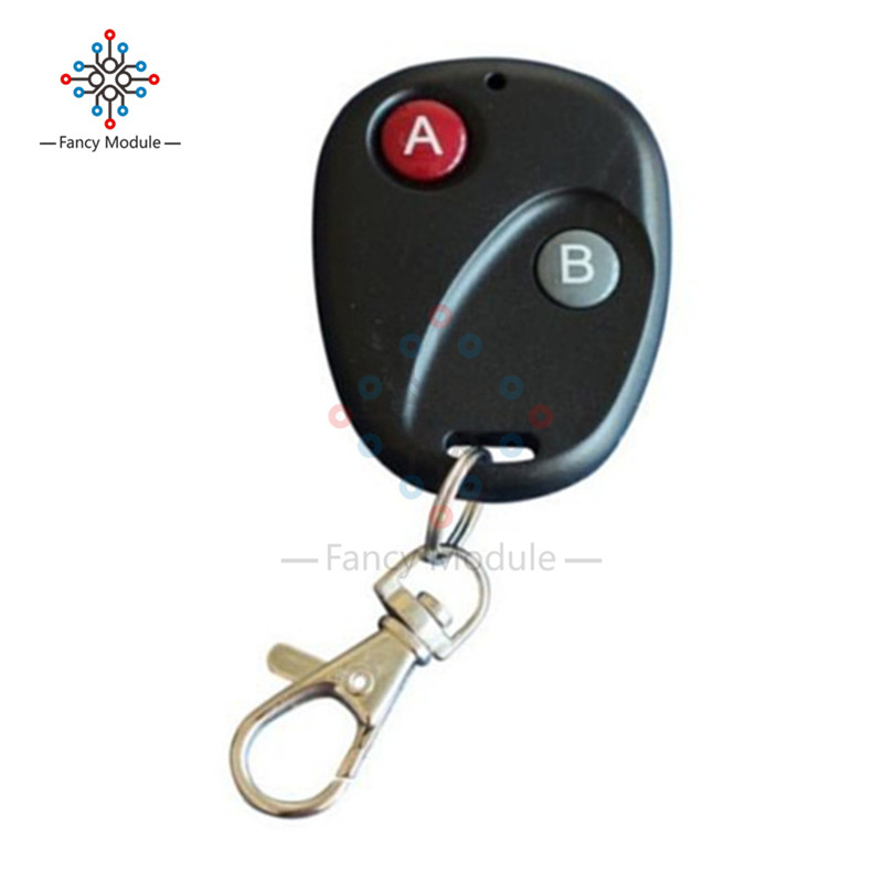 цена на Wireless 315MHz/433MHz RF Remote Control Key Garage Gate Door Transmitter