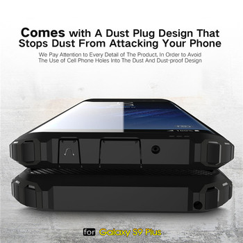 Rugged Armor Case For Samsung Phones Hard PC Shockproof Cover 5
