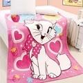 Горячая аден anais привет котенок 100% ватки одеяло мультфильм одеяло на кровати, Одеяла на диван детское одеяло 200 см X 230 см