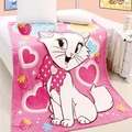 HOT Aden anais Hello Kitty 100% Coral Fleece Blanket Cartoon Blanket on the Bed, Blankets on the Sofa Baby blanket 200cmX230cm