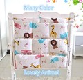 Promoción! Kitty Mickey bebé de almacenamiento, envío gratis, bebé cunas camas establece, bolsas colgantes de almacenamiento para el bebé cama
