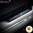 For BMW 3 series 2009 to 2013 E92 E93 318i 320i 325i 328i 330i 335i 320d 325d Carbon Fiber Door Sill Sticker Car door sill 4D M