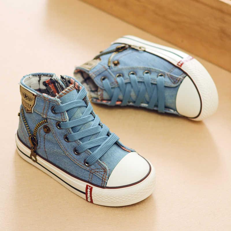 b3080c01 2019 осень эксперт умений Повседневная детская обувь для мальчиков и  девочек спортивная обувь дышащая джинсовые кроссовки