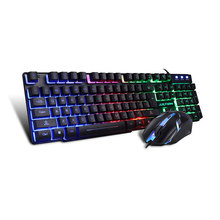 Tastatur Keyboard Usb Klawiatura Gaming Keyboards Pc Clavier Teclado Computador Backlit Gamer Klavye White